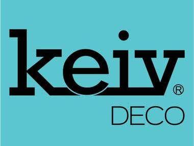 Diseño Logo Keiv Deco