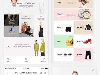 Shoppnig app