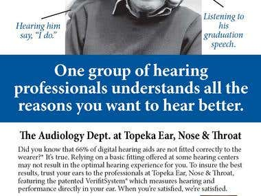 Print Ad - Topeka ENT Audiology Services