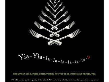 Print Ad - Yia Yias restaurant