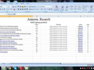 E- Commerce Research