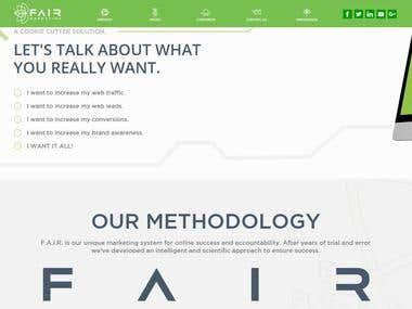 Laravel Web App - Digital marketing website