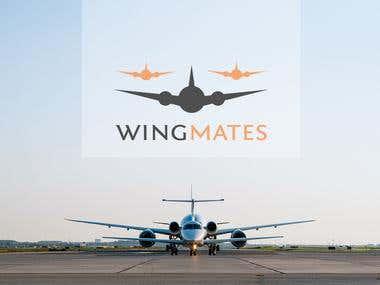Plane logo design