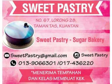 SWEET PASTRY BANNER