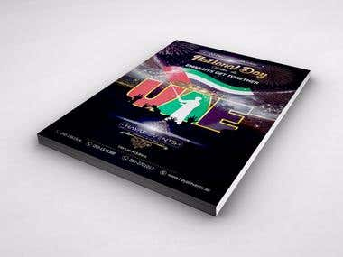 Flyer Design for Hayat Events Orginizer Dubai U.A.E