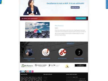 Wordpress Website - Talentpal