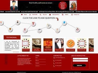 Hindi PHP Website - Utkarsh Jyoti
