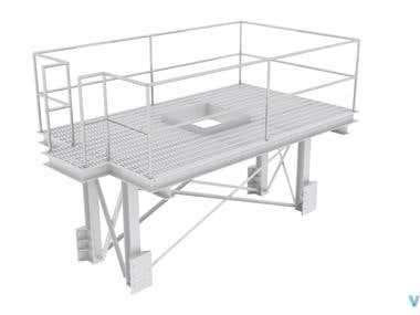Platform Design Render