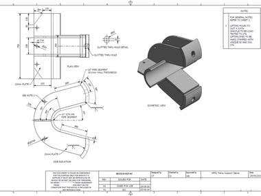Clamp Design Example drawing