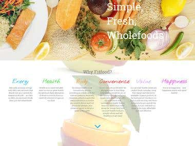Fit Food - Food Delivery Business