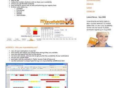 Website www.MyAvailability.Com