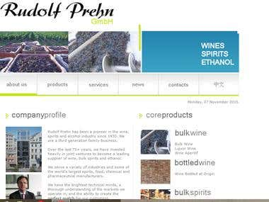 Vina Maria Website