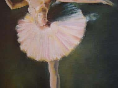 Bailarina esvoaçante