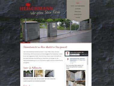 Wordpressseite erstellt