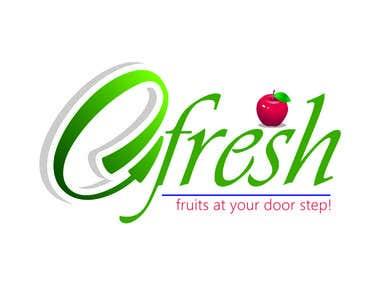 Logo e Fresh Fruits (e commerce)