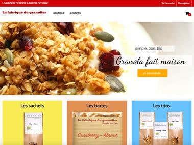 Lafabriquedugranolier.com