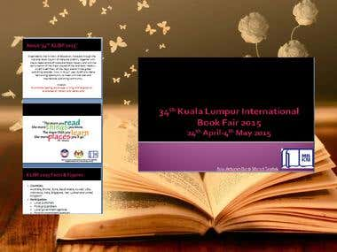 Professional Presentation (Book Fair Event)