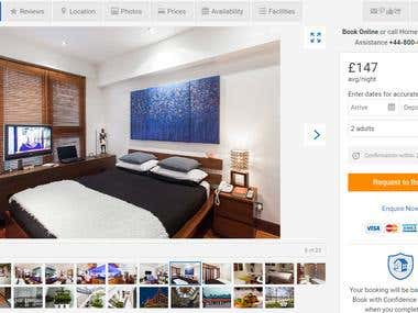 Wonderful Hotel Booking Site