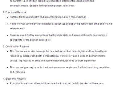 Resume Enhancer