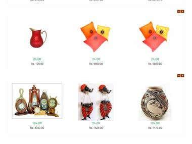 Multivendor E-Commerce website