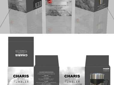 Charis Tumbler Packaging Designs