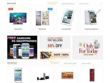 Ecommerce Website design