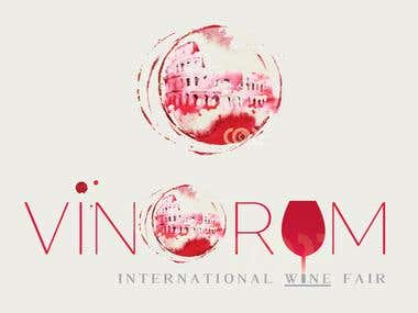 Logo international wine fair
