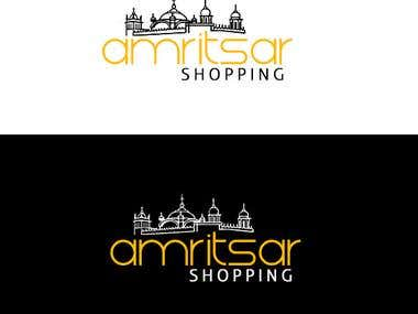 Logo Design for Ecommerce Company- Amritsar Shopping