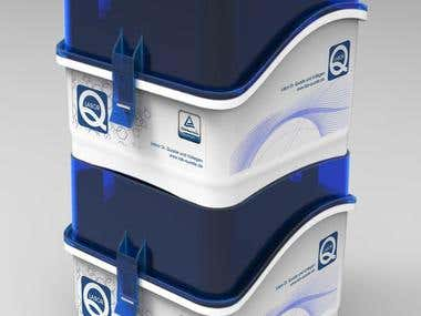 LabORQ- Design for Vial Transportation Box
