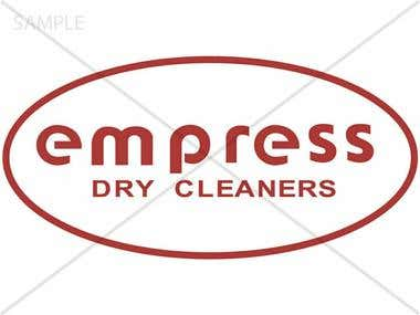 Logo designed for Dry Cleaners