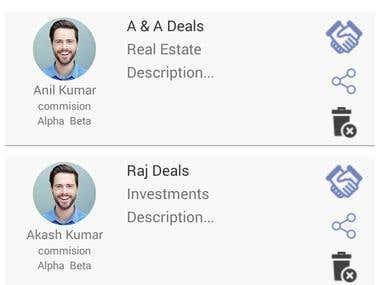 Broker Deal Android App