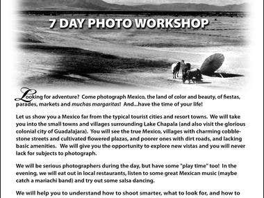 Mexploration in Lake Chapala-- 7 Day Photo Workshop