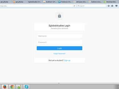 Eglobal Study Admin tool