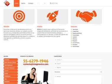 Diseño Web INTEG Ingeniería Integral
