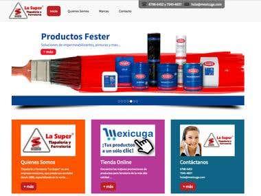 Diseño Web Ferretería La Super