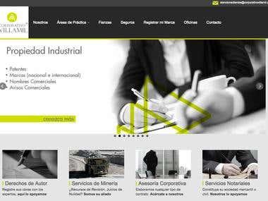 Diseño Web Corporativo Villamil