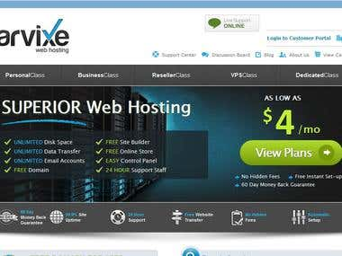 Web Hosting - Website Development