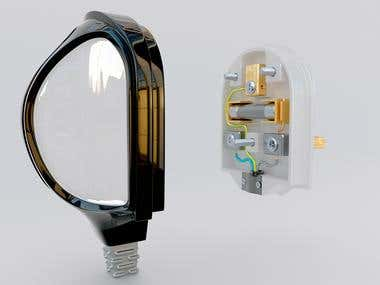 Redesign a power plug