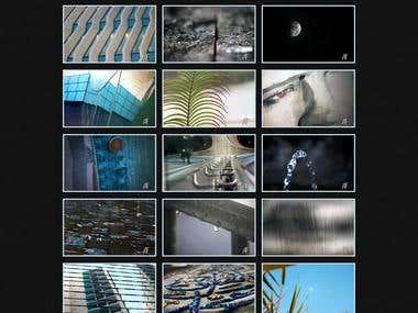Photography Web Gallery
