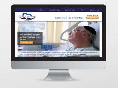 Ezras Cholim Web Mock up