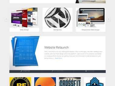 Designer Personal Website