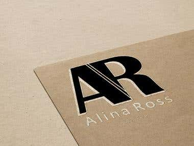 Alina Ross Logo Dessign
