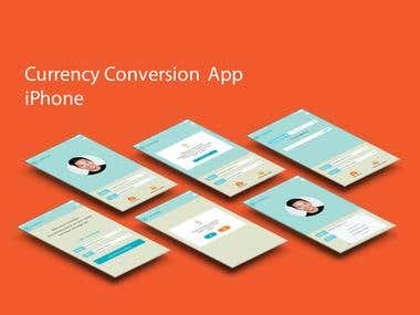 Currency Conversion App Design