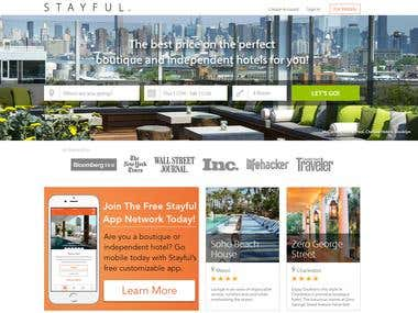 Hotel Booking Web site - Stayful