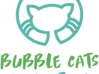 Bubble Cats Cafe Logo