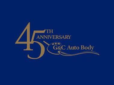 G&C Anniversary Logo Design