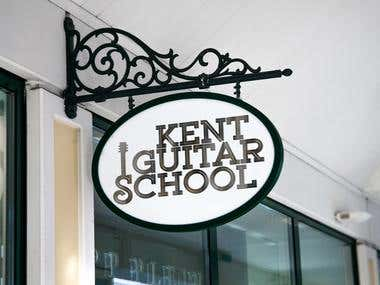 KENT GUITAR SCHOOL LOGO