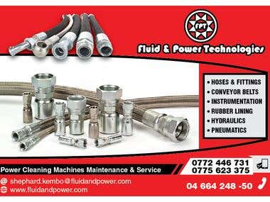 Fluid & Power Technologies FLYER Design