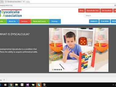 Dyscalculia association - CMS website
