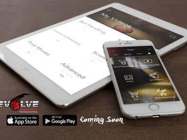 Iphone/Ipad app advertisement